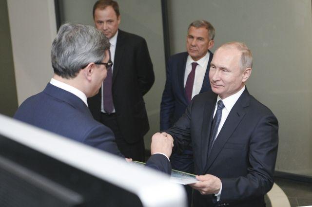 Владимир Путин запустил новое производство