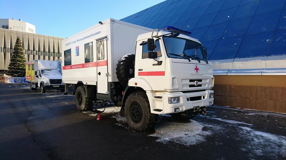 В Москве состоялась презентация «скорой помощи»